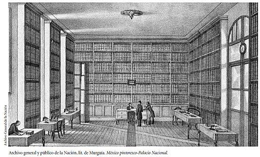 Creación del Archivo General y Público de la Nación