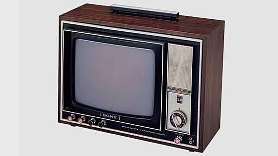 Цветной телевизор с кинескопом «Тринитрон»