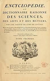 Primeira edición da enciclopedia