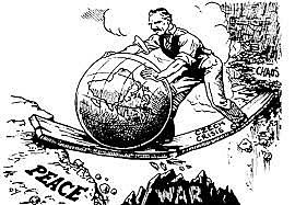 U.S. declares neutrality at the beginning of WWII