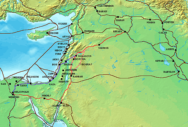 TORNADA HEBREUS A EGIPTE