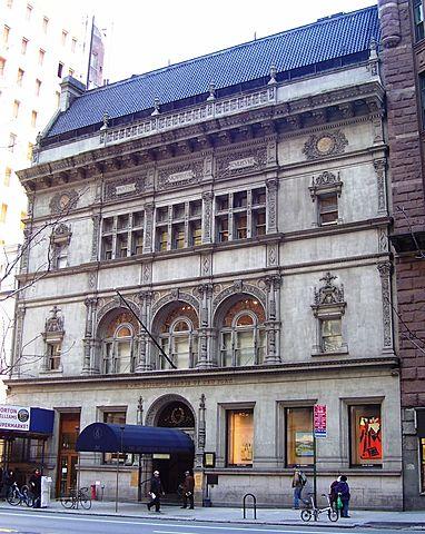Liga de Arquitectura de Nueva York.
