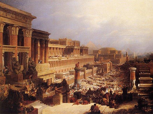 MARXA HEBREUS A MOISES