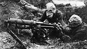 •Trench Warfare, Poison Gas, and Machine Guns