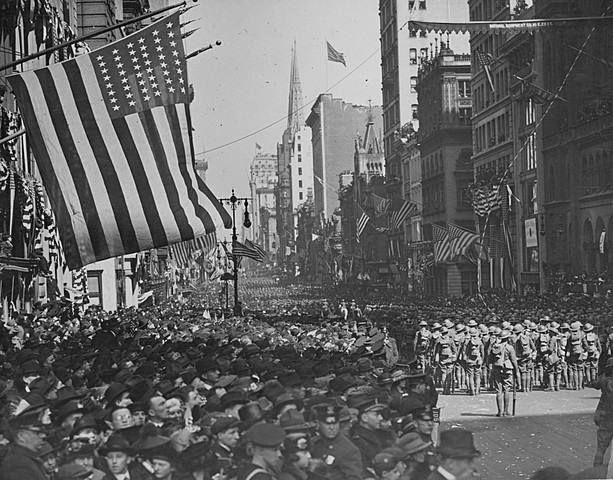 U.S. entry into WWI