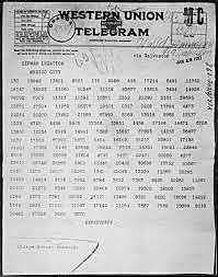 •	Zimmerman Telegram (