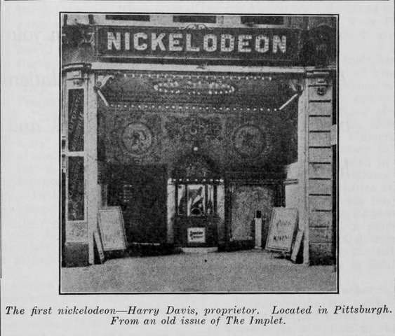The First Nickelodeon