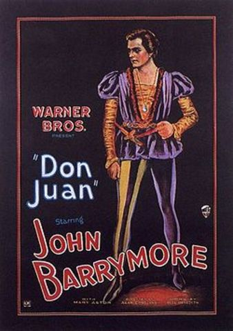 """- Bell Laboratories develops a 33 1/3 rpm disk system to synchronize a music track for            the Warner Brothers film """"Don Juan"""""""