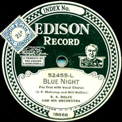 The Edison Co. ceases the manufacturing of sound recordings