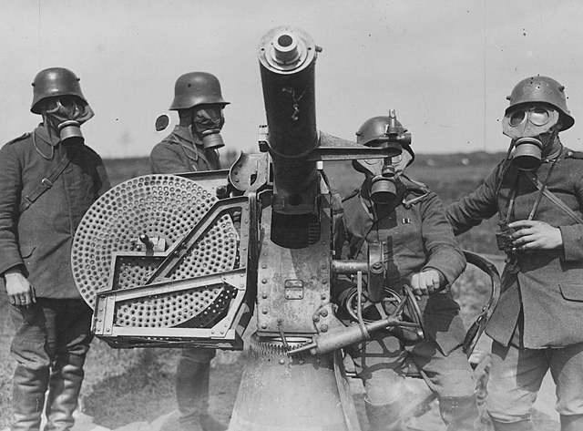 Trench Warfare, Poison Gas, and Machine Guns