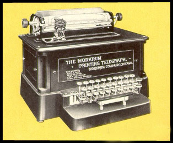 Western Union introduces teletypewriters,