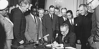 Civil Rights Act signed