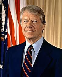 Jimmy Carter becomes President of the United States