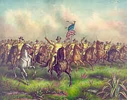 The Spanish American war begins