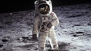 The first landing on the moon
