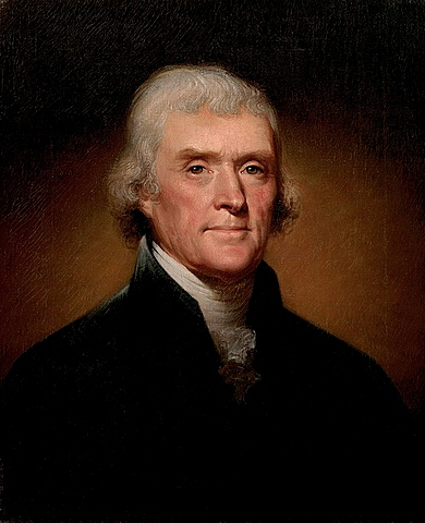 Thomas Jefferson became President of the United States