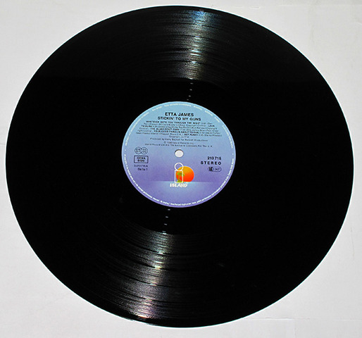 """Larger 12"""" LP's overtake 10"""" LP's as the preferred size for long-playing records"""