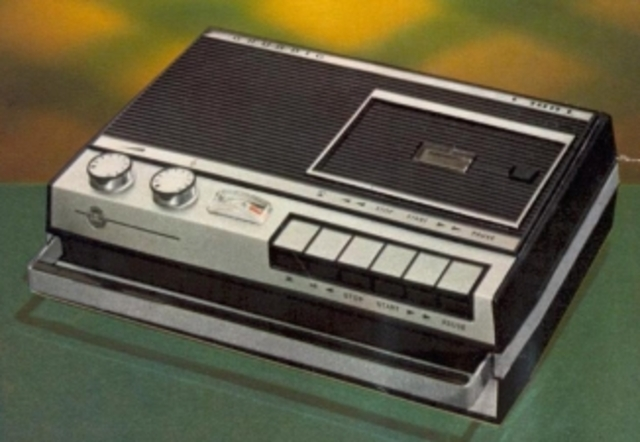 1964 - The 8-track stereo tape cartridge is developed for automobile use by Lear