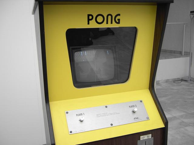 "1972 - Atari of Santa Clara, CA develops ""Pong"" -- the first electronic computer arcade game."