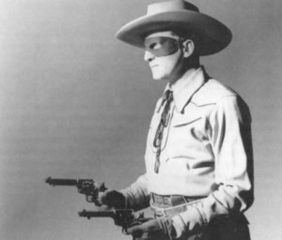 """The first episode of """"The Lone Ranger"""" radio series debuts."""