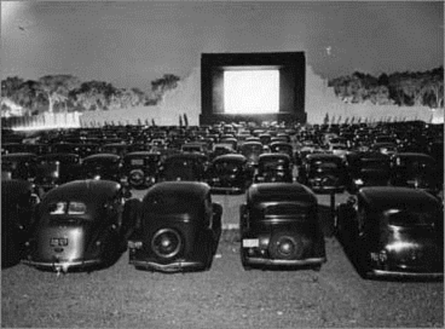 Ricard M Hollingshead opened the first drive in movie theater