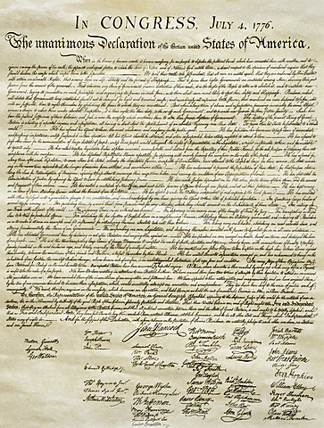 The Declaration of Independence Published