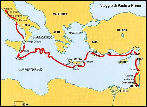 quarto viaggio di San Paolo timeline   Timetoast timelines
