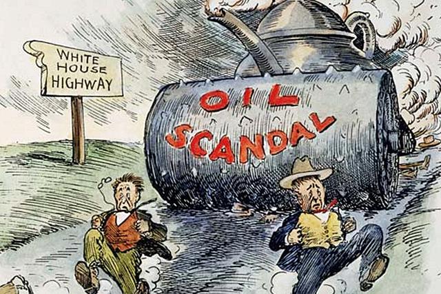 •Teapot Dome Scandal (1921)