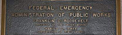 •	Public Works Administration (PWA