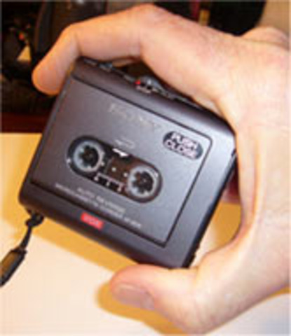 Phillips introduces a digital audio tape recorder