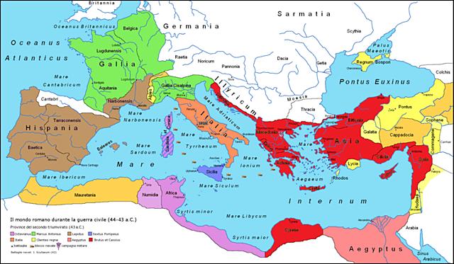 Fine della Repubblica : battaglia di Azio