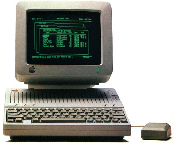 Computadores personales: Apple II,