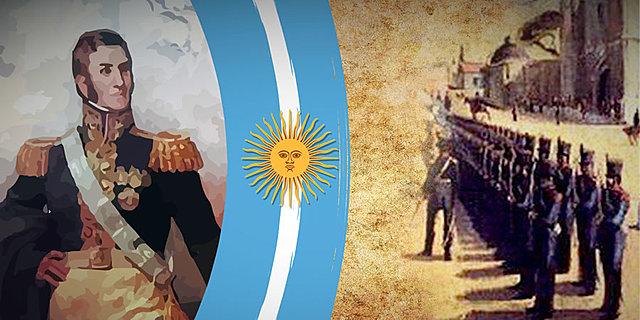 San Martín hace jurar la Independencia