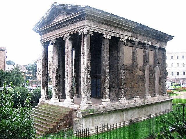 ROMA. Templo de Portuno