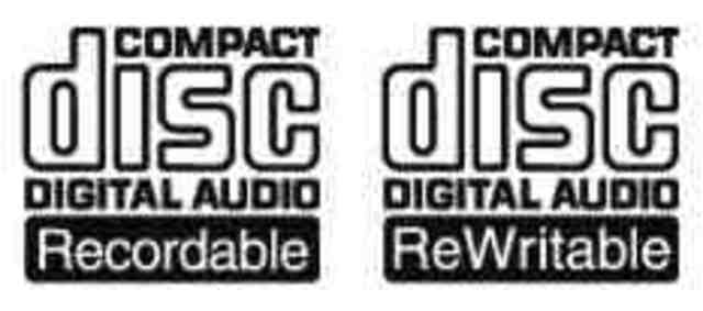 recordable CD-R digital audio disc technology