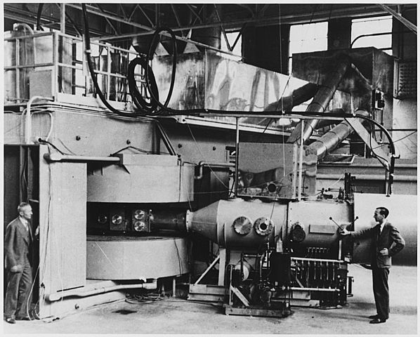 Invention of cyclotron