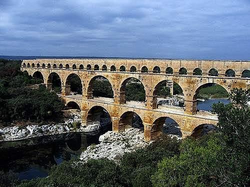ROMA. Puente del Gard