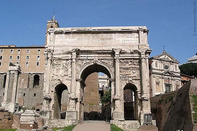 ROMA. Arco de Septimio Severo