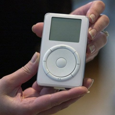 Apple computer introduces the Ipodportable music player