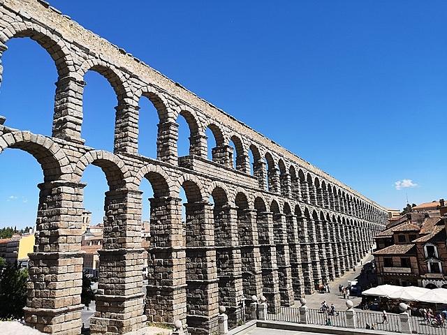ROMA. Acueducto de Segovia