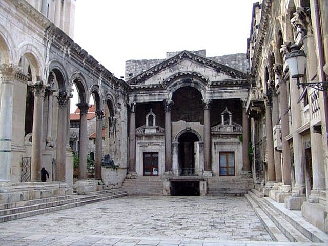 ROMA. Palacio de Diocleciano