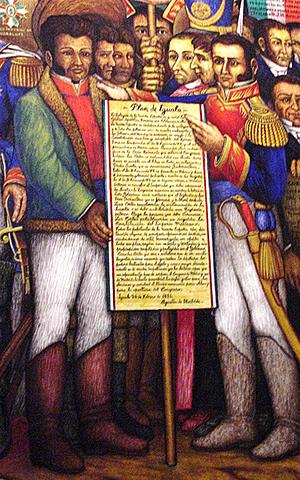 proclamación del Plan de Iguala