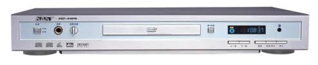 DVD video disk players outsell VHS video cassette recorder/players for the first time