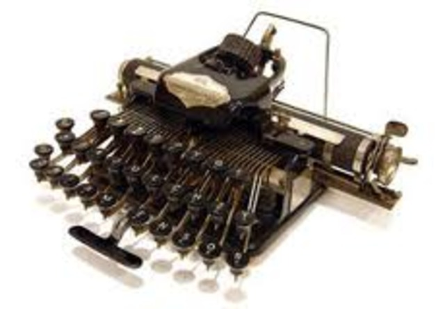 The Remington Arms company signs a deal to market Sholes' Typewriter under their name