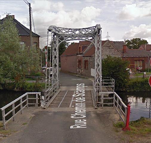 Pont-levis d'Ascamp, Ath