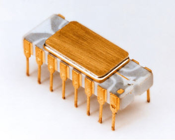The first Microprocessor (computer on a chip) is introduced by Intel -- the 4004