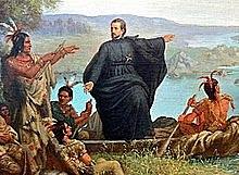 Arrivée des Jésuites en Nouvelle-France
