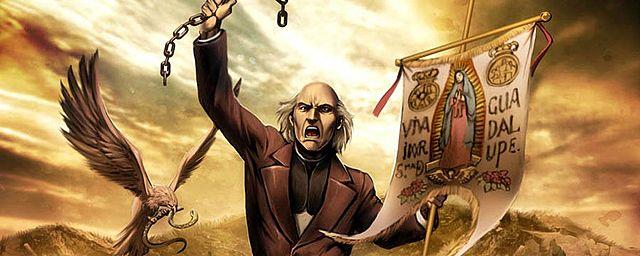 El cura  Miguel Hidalgo lanza el Grito de Dolores