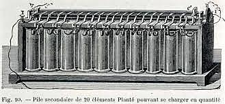 Gaston Planté | Premier accumulateur