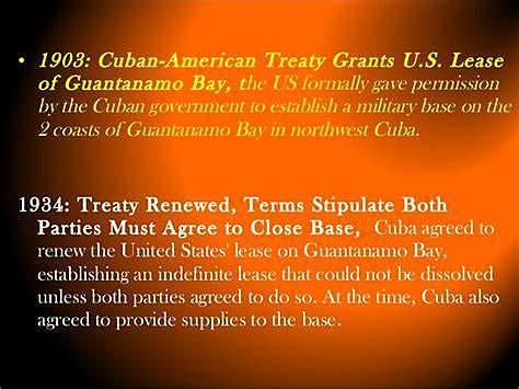 Cuba treaty